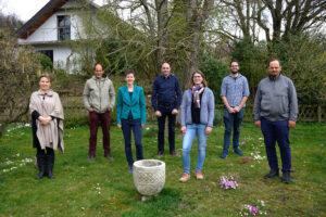 Gruppenfoto der Kandidierenden der Grünen in Windisch